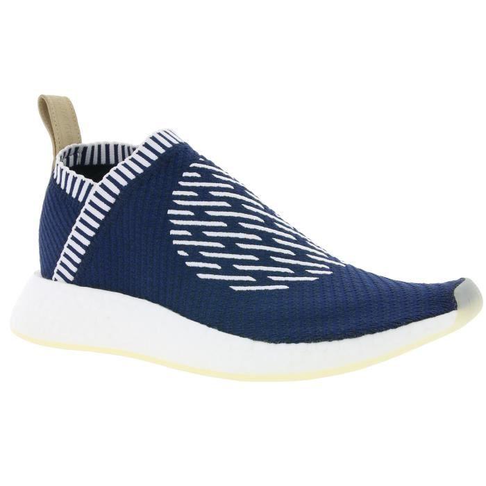 adidas Originals NMD_CS2 Primeknit Boost Hommes Sneaker Bleu BA7189