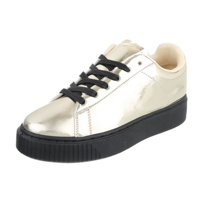 Chaussures femme chaussures sportSneakers or 41 TAtmc