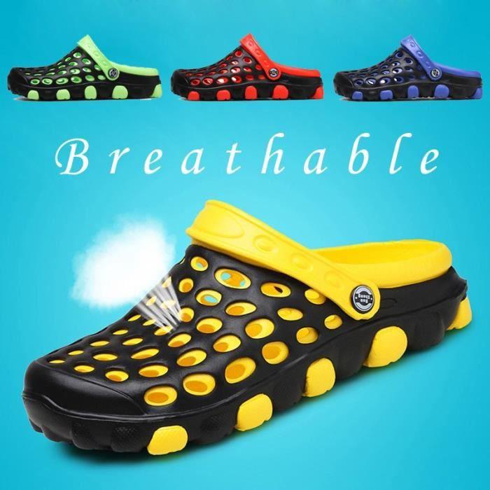 Nouvelle arrivée Mode Sandales de plage hommes Casual Massage Soles Respirant