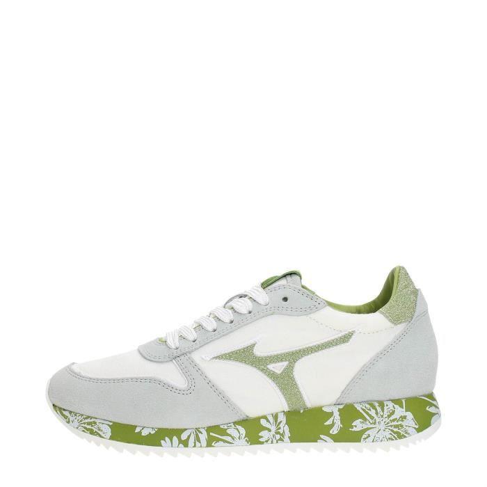 MIZUNO Sneakers Femme WHITE/GREEN, 39