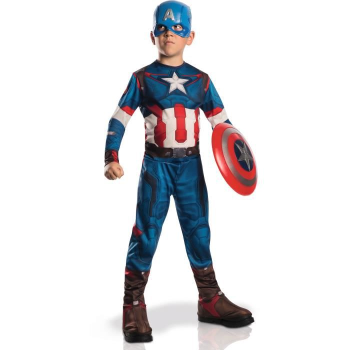 DÉGUISEMENT - PANOPLIE CAPTAIN AMERICA Déguisement Classique Avengers