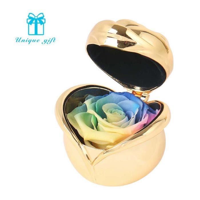 Conservé à la main Fleur Rose, jamais flétris roses, cadeaux pour maman, Idée cadeau pour les femmes, elle, filles, Soeur, Fête des