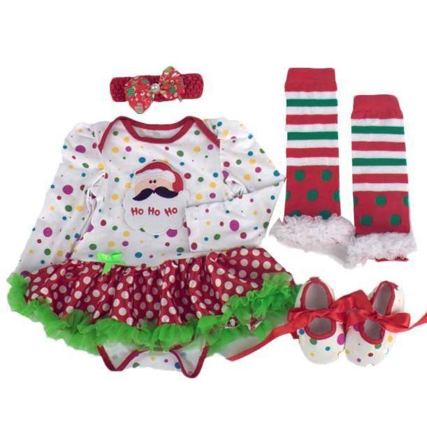 Noël Girl Romper Ha2461 Tutu Nouveau Robe Christmas Tenues Baby né Ensembles Vêtements Party Tn5qwPxFa