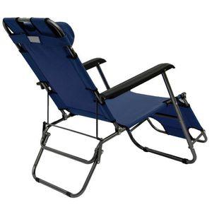Chaise longue transat achat vente chaise longue for Achat chaise longue