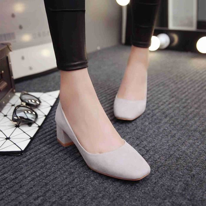 Chaussure Femmes Solide Confortable Casual