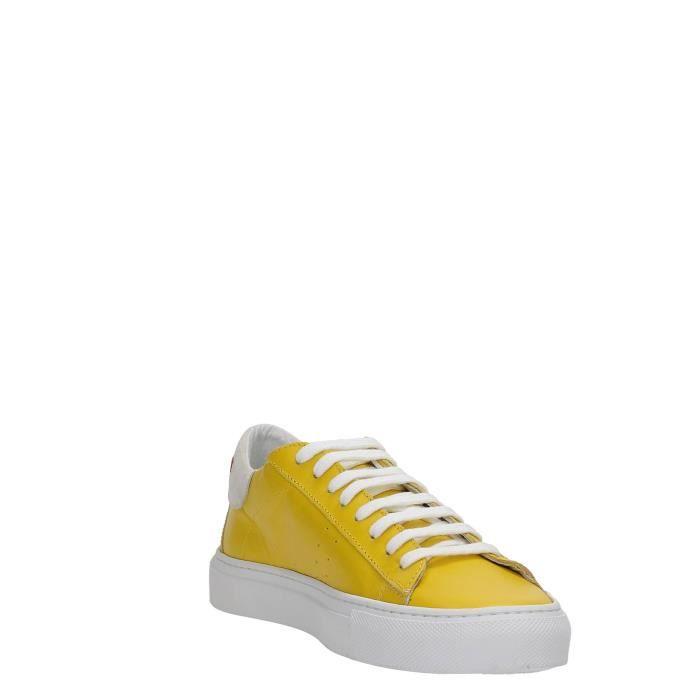 Patrizia Pepe Sneakers Femme SCINY YELLOW