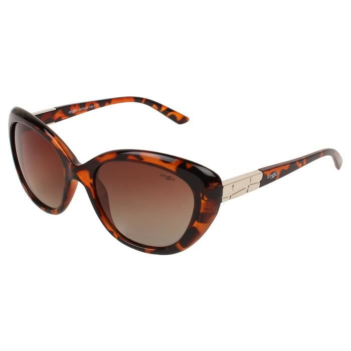 Modishuv Protected Polarized Cat Eye Shaped Sunglass For { 63} NTD8T