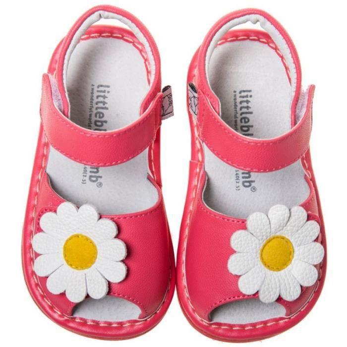 Little Blue Lamb - Chaussures à sifflet   Sandales marguerite saumon cérémonie - fiFXoE2Orz