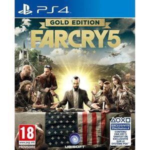 Far Cry 5 Edition Gold Jeu PS4