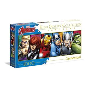 PUZZLE THE AVENGERS Puzzle Panorama 1000 pièces