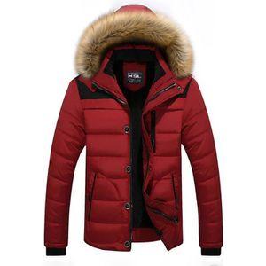 9e0323b7af01 DOUDOUNE Doudoune Homme Marque hiver Manteau Homme à capuch
