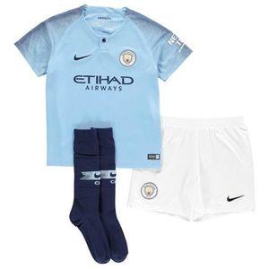release date 16e1d d6389 MAILLOT DE FOOTBALL Mini-Kit Officiel Enfant Manchester City Saison 20