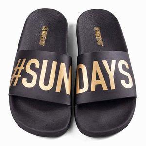 SANDALE - NU-PIEDS Sandale - nu-pieds sundays black