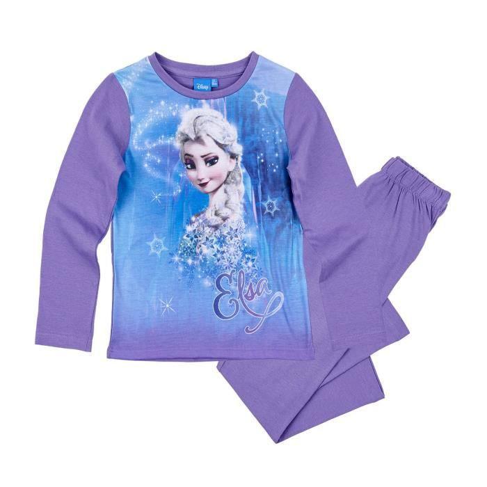 LA REINE DES NEIGES Pyjama 161425 - Enfant Fille - Violet
