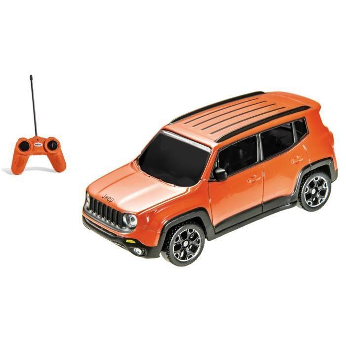 Mondo-Réplique radio commandée d'une Jeep Renegade.Echelle : 1/24ème-G- à partir de 3ansVEHICULE MINIATURE ASSEMBLE - ENGIN TERRESTRE MINIATURE ASSEMBLE