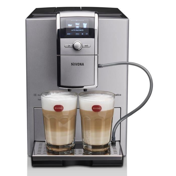 Grains de café et café moulu - Pression : 15 bars - Capacité : 1,8L – ConnectéeMACHINE A CAFE