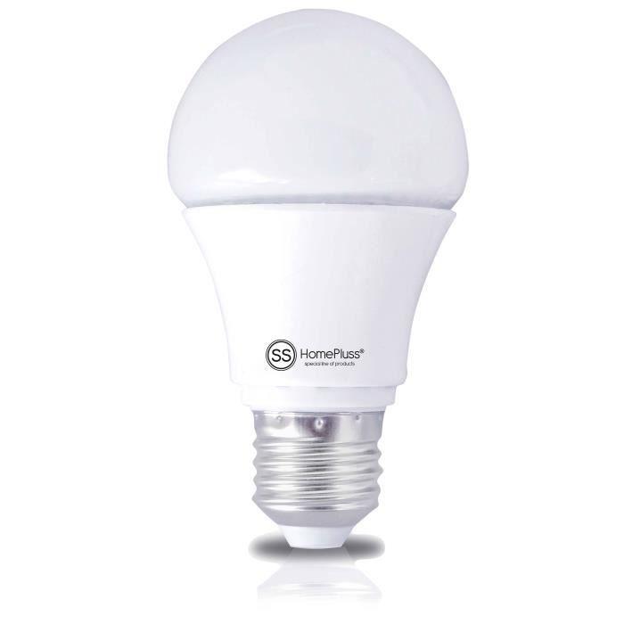 Image D Une Lampe ampoule led ronde e27 d'une consommation de 8w avantageuse un flux