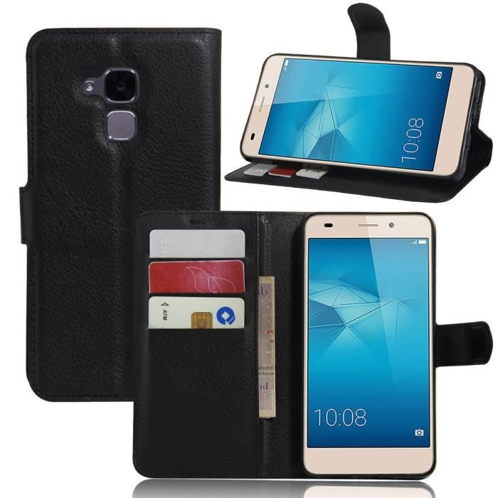 Etui huawei honor 5c coque vikoo flip cover cuir d 39 unit for Housse honor 5c