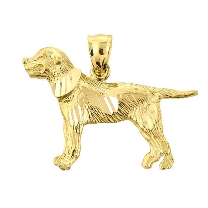 Collier Pendentif10 ct 471/1000 diamant Or Coupe Grand Swiss Sennen het Collier Pendentif(vient avec une Chaîne de 45 cm)
