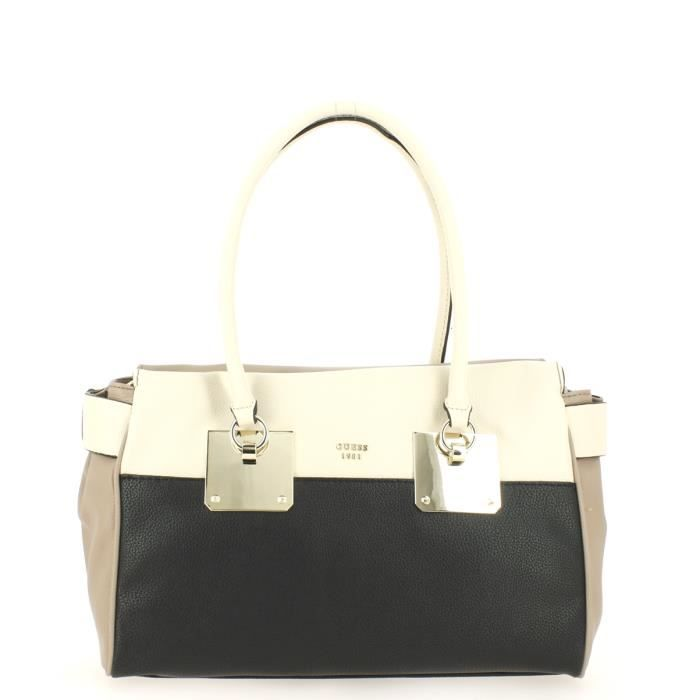 c4941cf71c Sac shopping GUESS Luma Black Multi. - Achat / Vente sac shopping ...