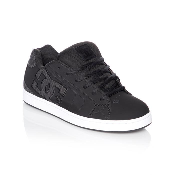 Chaussure DC Net Noir-Noir-Gris