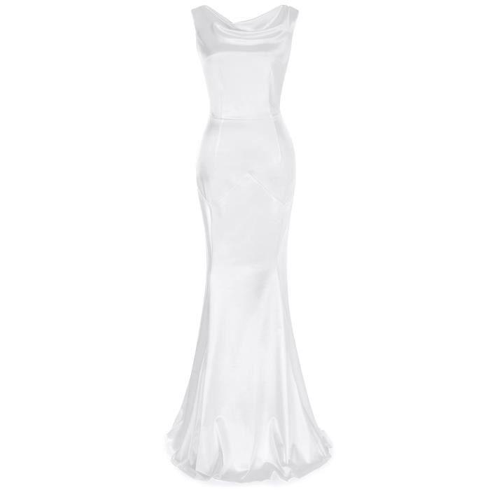 Étage de 1950 féminin Longueur Maxi Dress 2LOPRL Taille-44