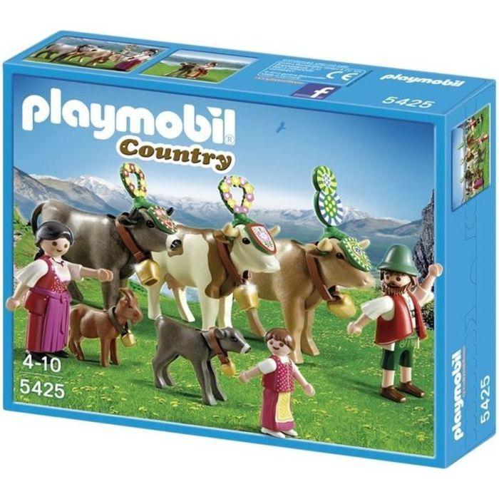 playmobil vache achat vente jeux et jouets pas chers. Black Bedroom Furniture Sets. Home Design Ideas