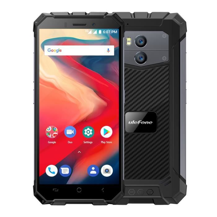 Téléphone portable 5.5'' Ulefone Armor X2 Téléphone Portable Débloqué