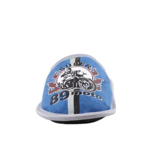 Chaussons à motif moto - bleu - garçon ZonRRj