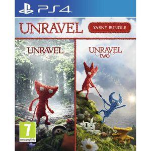 JEU PS4 Pack Unravel jeu PS4