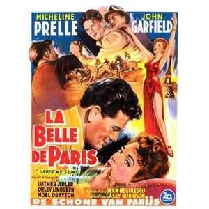 AFFICHE - POSTER BELLE DE PARIS (LA) reproduction affiche de cinéma