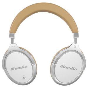 CASQUE - ÉCOUTEURS Bluedio F2 casque ANC Écouteur sans fil Bluetooth