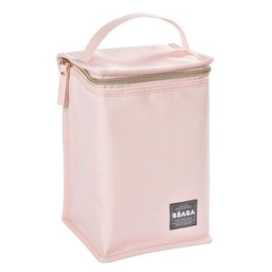 CONSERVATION REPAS BEABA Pochette repas isotherme rose nude/gold