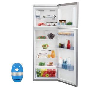 RÉFRIGÉRATEUR CLASSIQUE BEKO réfrigérateur frigo double porte inox 314L A+