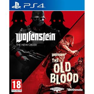 JEU PS4 Wolfenstein Double pack