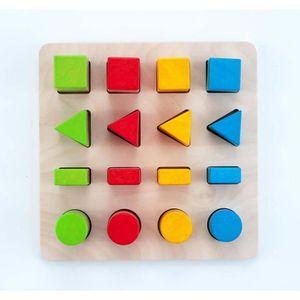 PUZZLE Jeu D'apprentissage - Engelhart - Puzzle en bois é