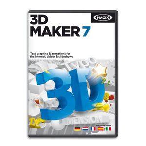 CULTURE MAGIX Logiciel CD 3D Maker - Pour PC