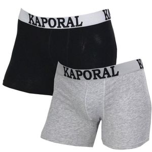 BOXER - SHORTY BOXER  KAPORAL PACK 2 BOXERS / CHINE -