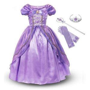 DÉGUISEMENT - PANOPLIE Déguisement pour enfants Princesse Rapunzel +3 Acc