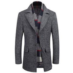 site réputé f1408 9c93d Long duffle coat