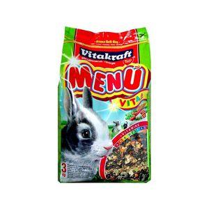 GRAINES Nourriture pour lapin nain - menu vital
