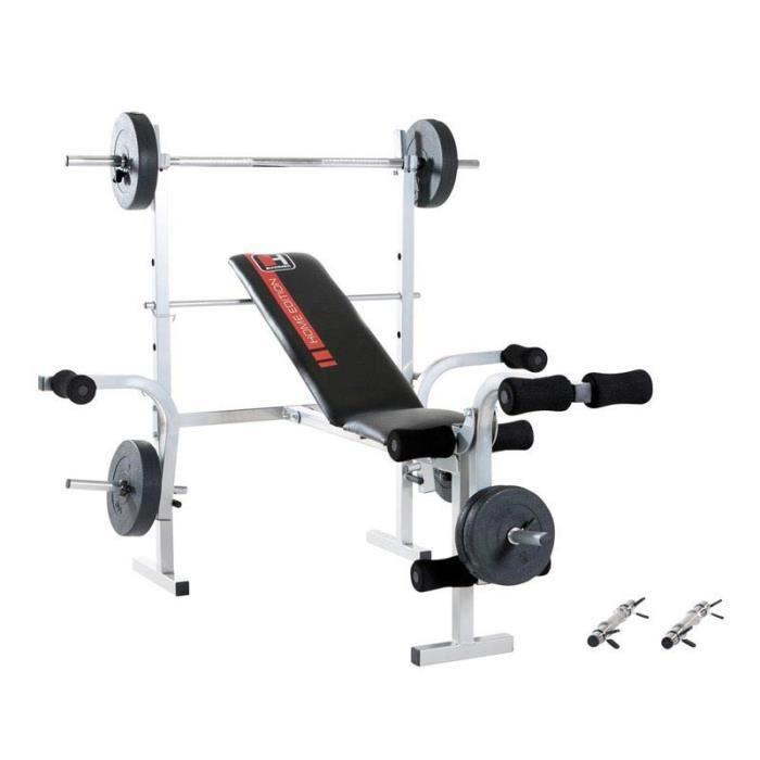 HAMMER Banc de Musculation multifonction Bermuda 45042+ 25kg de poids