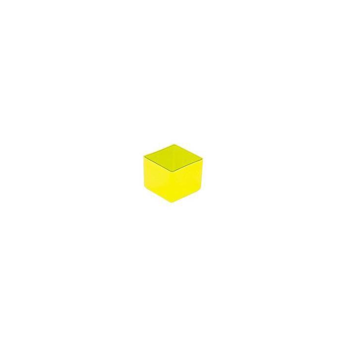 ORGANISATEUR DE TIROIR  Boite de tiroir 49x49x40 mm jaune