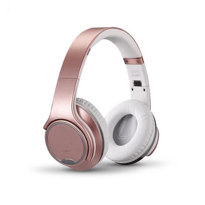 Mh1 Flip À Haut-parleur Bluetooth Puissant Or Rose