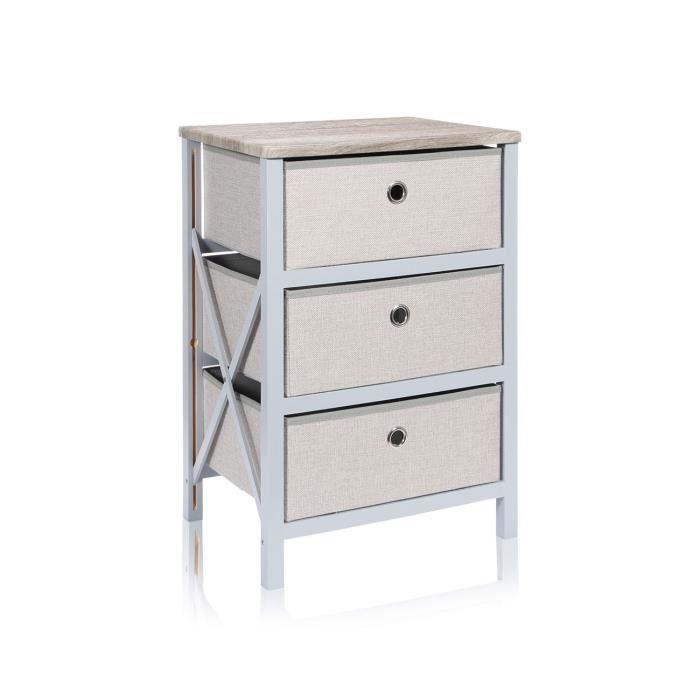 petit meuble pin et tiroir achat vente petit meuble pin et tiroir pas cher cdiscount. Black Bedroom Furniture Sets. Home Design Ideas