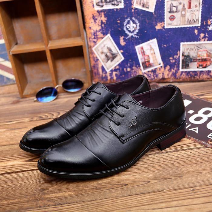 Derby 2017 Le printemps et l'été en plein air hommes chaussures en cuir décontractée OpcMWZ3QAA