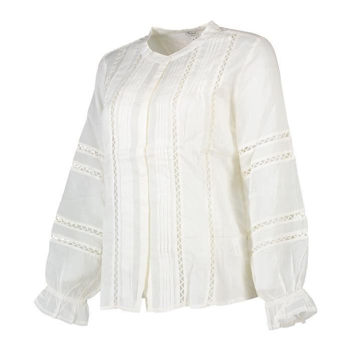 e4d63155f Vêtements femme Chemisiers et chemises Pepe Jeans Isabelle