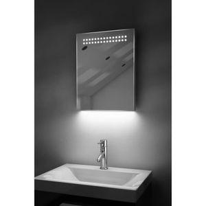 Miroir anti buee achat vente miroir anti buee pas cher cdiscount - Miroir salle de bain bluetooth ...