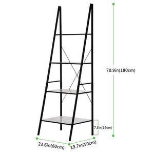 etagere echelle achat vente etagere echelle pas cher soldes d s le 10 janvier cdiscount. Black Bedroom Furniture Sets. Home Design Ideas