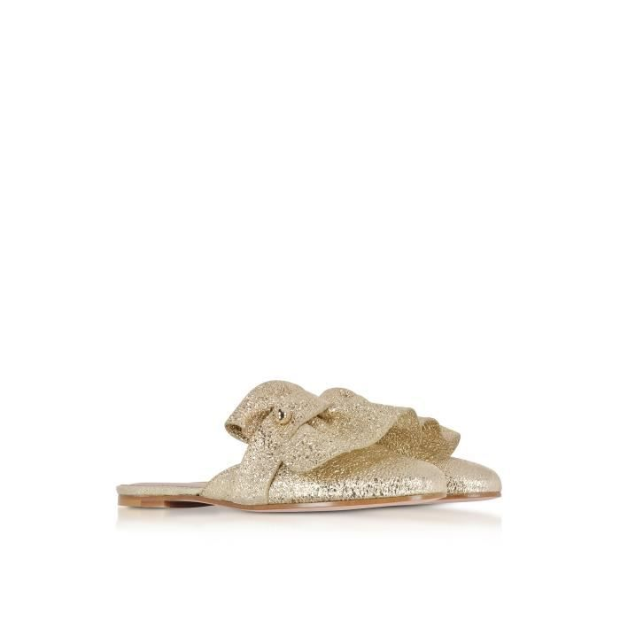 RED VALENTINO FEMME PQ2S0A50EAQP18 OR CUIR SANDALES